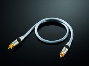 Cinch Kabel Audio Kabel / Video Kabel / Subwooferkabel  argentum 2,5m